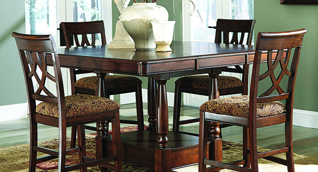 Home Furniture Dining Room Financing Bar Stools